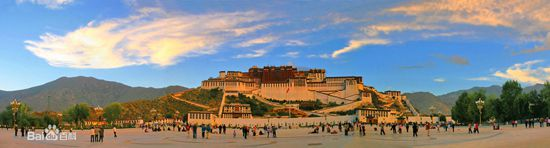 Lhasa, Tibetan Autonomous Region, one of the 'top 9 happiest Chinese cities in 2016' by www.fcspud.com.cn.