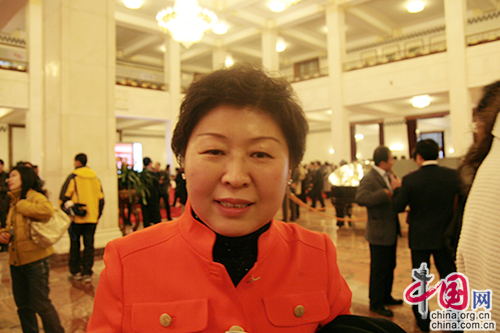 Zhang Yin, one of the 'Top 10 self-made women billionaires in the world' by China.org.cn