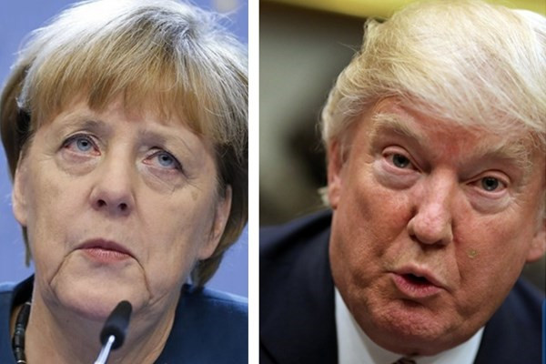 Trump & Angela Merkel Cold Meeting Reveals Vast Policy Split & Denied Handshake
