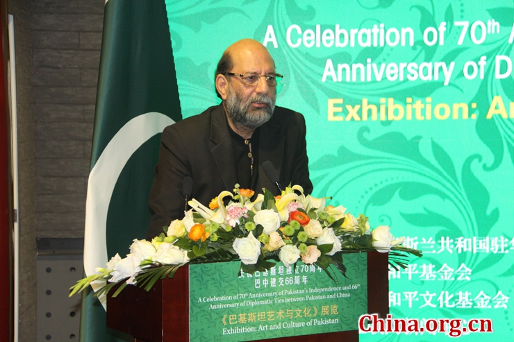 D Exhibition China : Pakistan themed exhibition held in beijing china