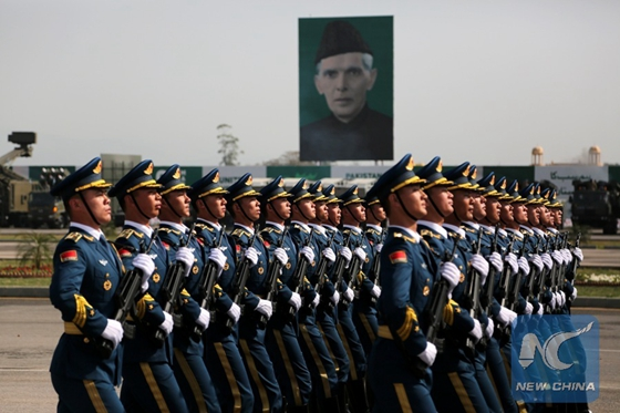 Chinese contingent participates in Pakistan Day military ...