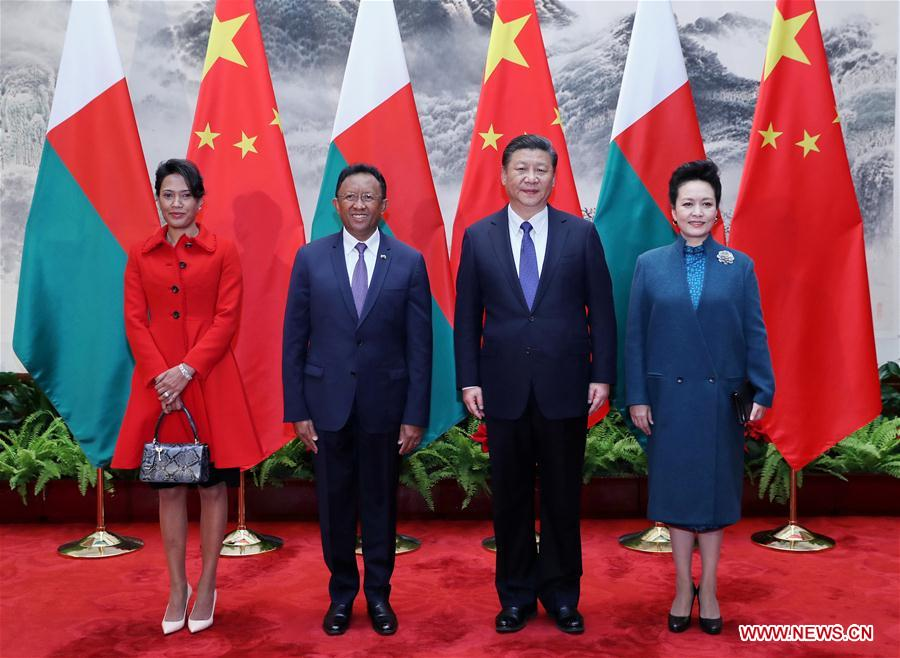 China welcomes Madagascar to join Belt and Road construction