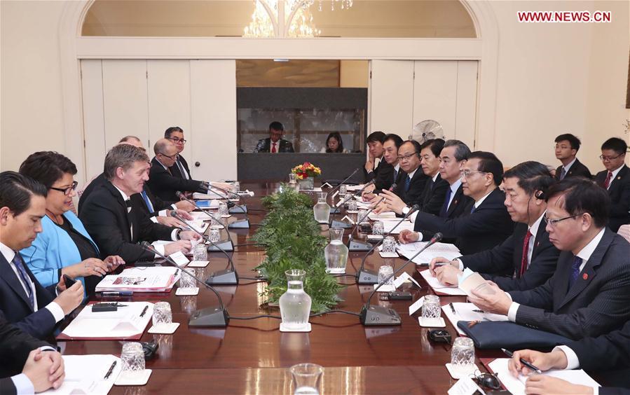 China, New Zealand eye closer trade ties, economic globalization