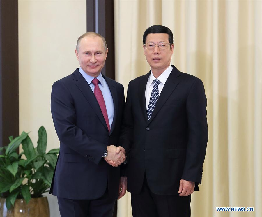 Russian President Putin confirms to attend Beijing's Belt and Road Forum