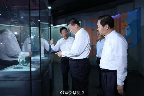 President Xi Jinping visits the Hepu Han Dynasty Museum in Beihai south China's Guangxi Zhuang autonomous region