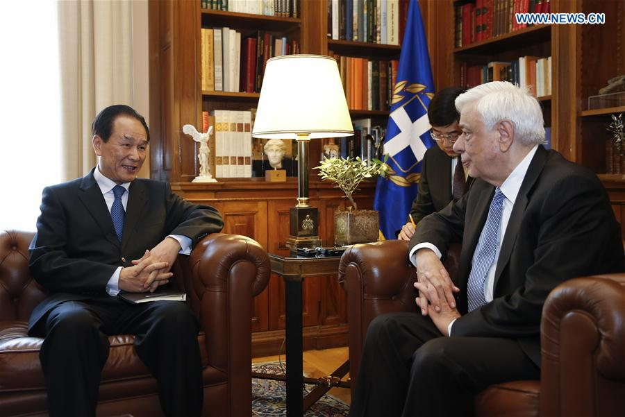 Greek president says upcoming Belt and Road forum of global significance