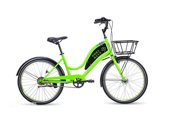 U-Bicycle, one of the 'top 10 bike-sharing apps in China' by China.org.cn.