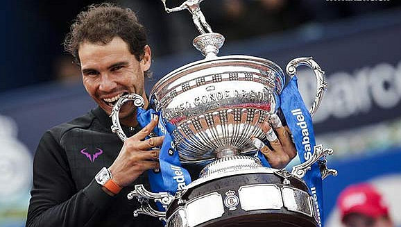 Nadal takes 10th Barcelona title