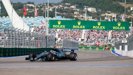 Mercedes' Bottas claims title in F1 Russian GP