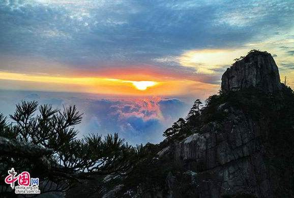 Huangshan, one of the 'Top 10 destinations in China in 2017' by China.org.cn