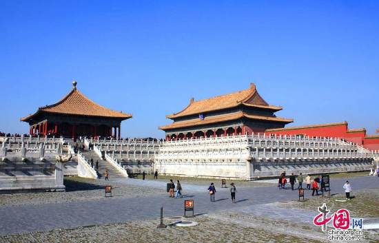 Beijing, one of the 'Top 10 destinations in China in 2017' by China.org.cn