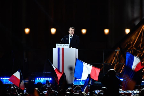 Rivlin thanks French victor Macron for stance against anti-Semitism