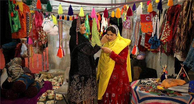 National Handicrafts Exhibition held in Tehran, Iran