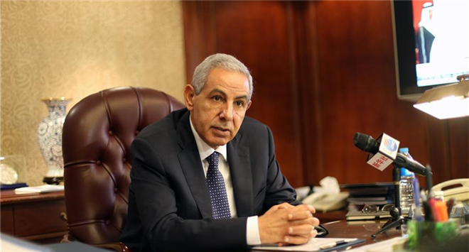 Egyptian Trade and Industry Minister Kabil gives interview to Xinhua on Belt and Road initiative