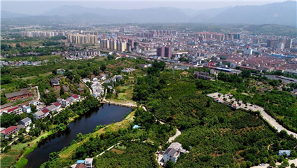 Scenery of Hanzhong City in NW China's Shaanxi