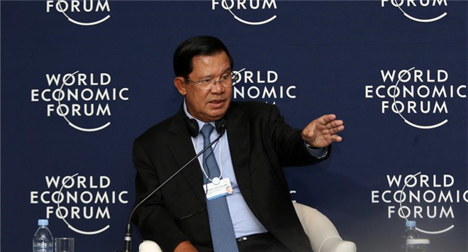 Belt and Road Initiative gives hope to developing countries in infrastructure development: Cambodian PM