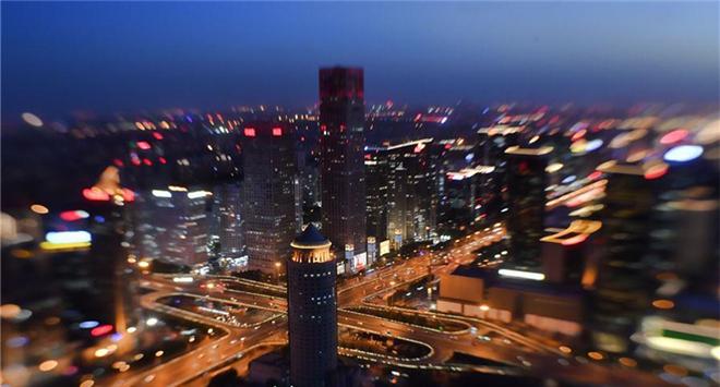 Landscape lighting illuminates Beijing to greet Belt and Road Forum