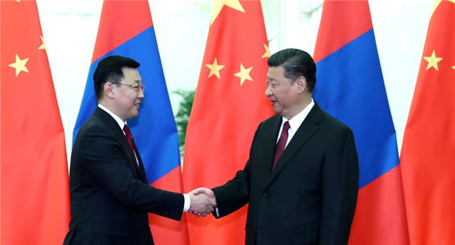 China welcomes Mongolia to actively participate in Belt and Road construction