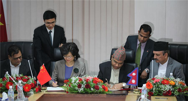 Nepal, China sign bilateral cooperation agreement under Belt and Road Initiative