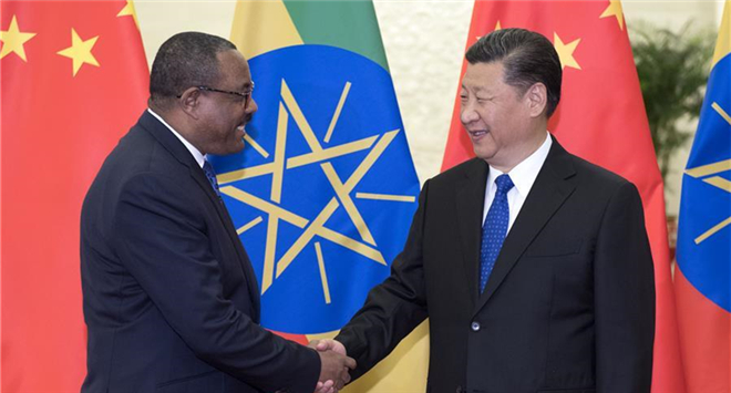 Xi proposes advancing China-Ethiopia ties
