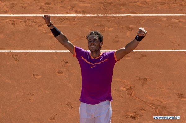 Nadal crushes Djokovic to reach Madrid final