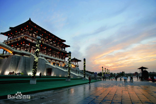 Xi'an, Shaanxi Province, one of the 'top 10 new first tier Chinese cities' by China.org.cn.