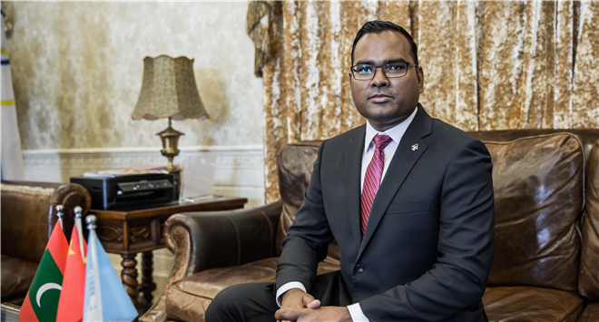 Maldives provide all their support to the Belt and Road Initiative