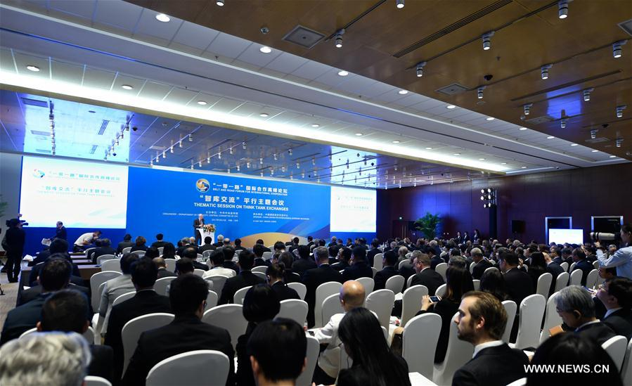 (BRF)CHINA-BEIJING-BELT AND ROAD FORUM-THEMATIC SESSIONS(CN)
