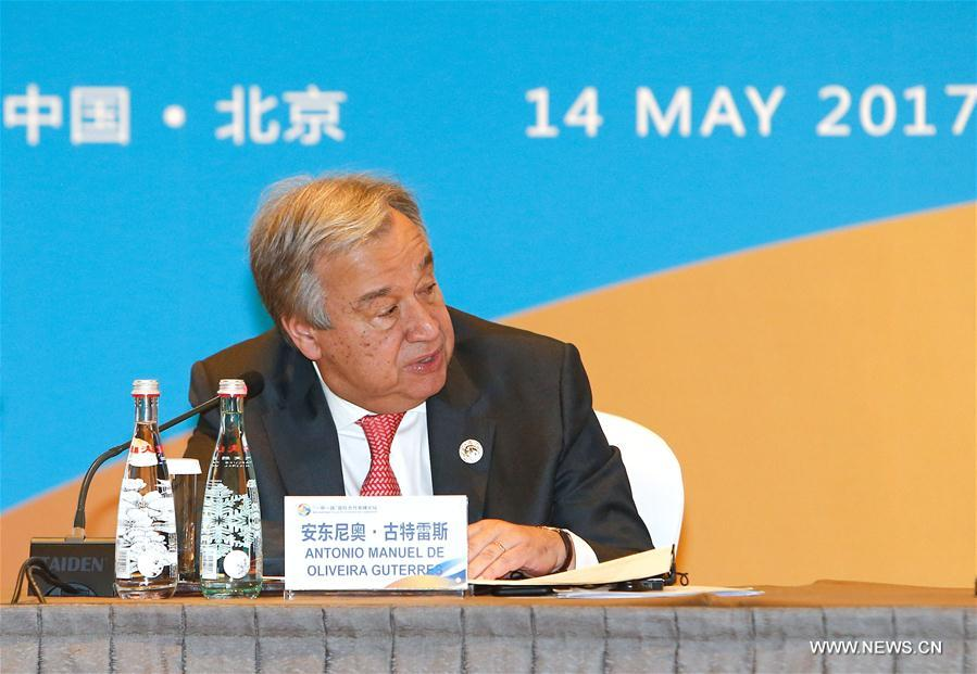(BRF)CHINA-BELT AND ROAD FORUM-THEMATIC SESSION-POLICIES-STRATEGIES (CN)
