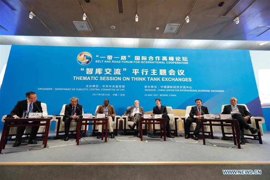 (BRF)CHINA-BELT AND ROAD FORUM-THEMATIC SESSION-THINK TANK (CN)