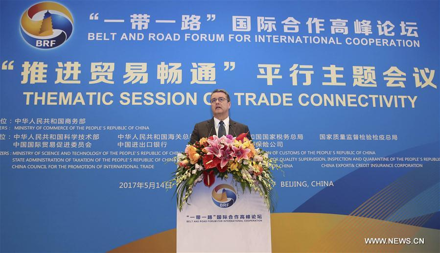 (BRF)CHINA-BELT AND ROAD FORUM-THEMATIC SESSION-TRADE (CN)