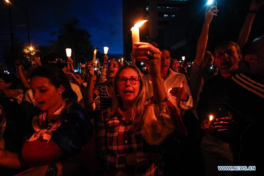 VENEZUELA-CARACAS-SOCIETY-PROTEST