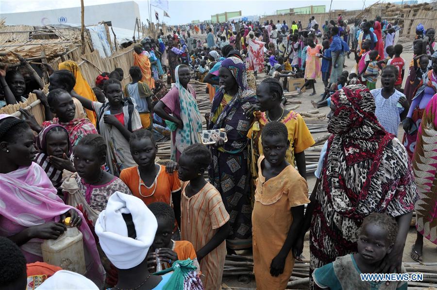 SUDAN-SOUTH SUDAN-KHOUR AL-WARAL REFUGEE CAMP