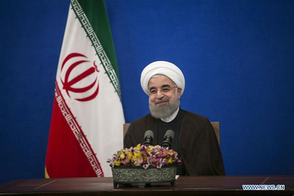 Rouhani declared victor of Iran's presidential vote, state TV