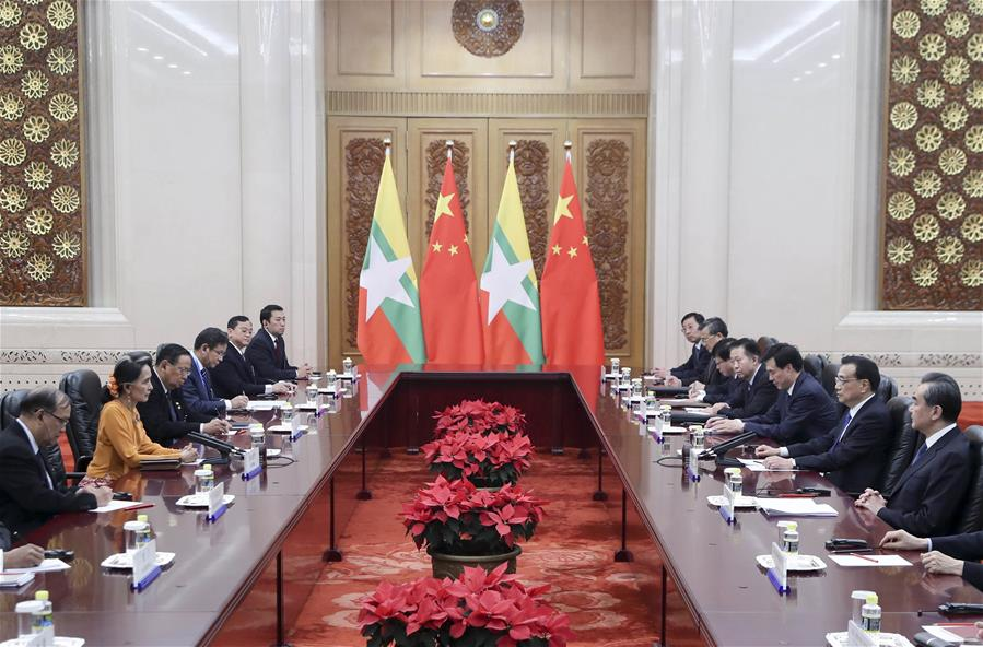 CHINA-BEIJING-LI KEQIANG-MYANMAR-MEETING (CN)