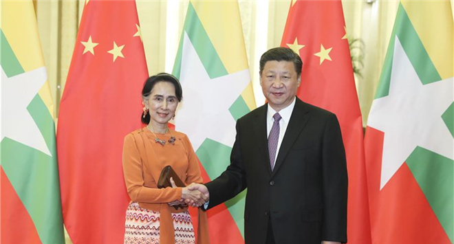 Xi says China willing to assist Myanmar in peace progress