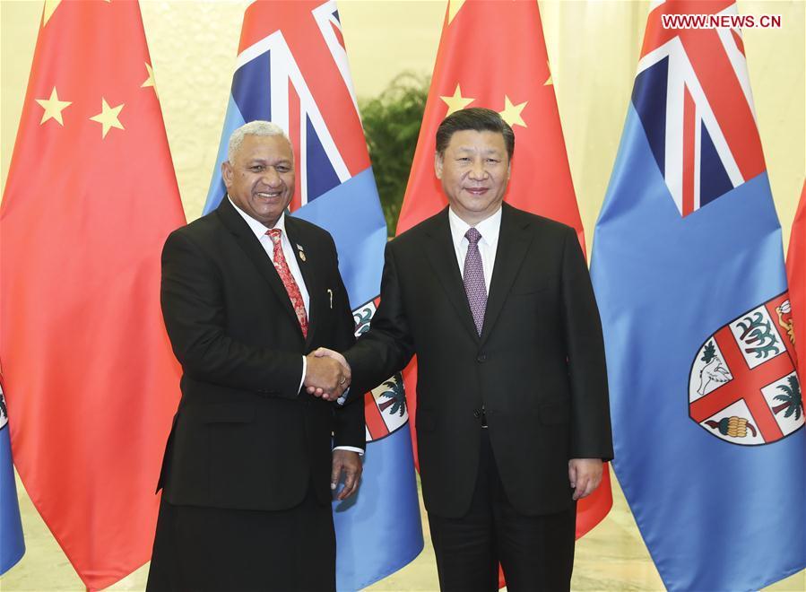 CHINA-BEIJING-XI JINPING-FIJI-MEETING (CN)