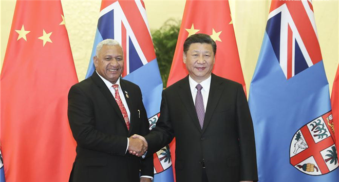 China, Fiji vow to strengthen cooperation