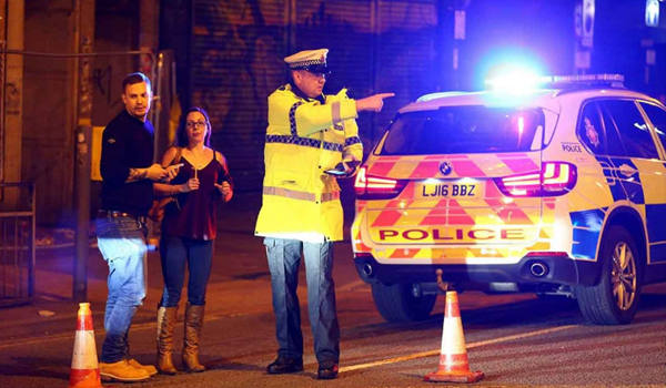 Manchester concert explosions treated as a 'terrorist incident'