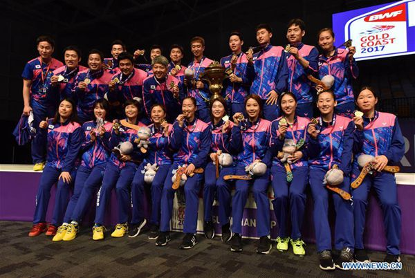 South Korea upset China to win Sudirman Cup