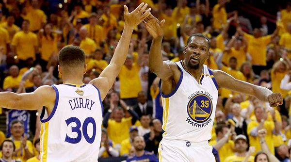 Golden State two from two in NBA finals