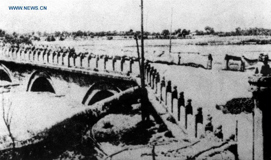 卢沟桥的记忆