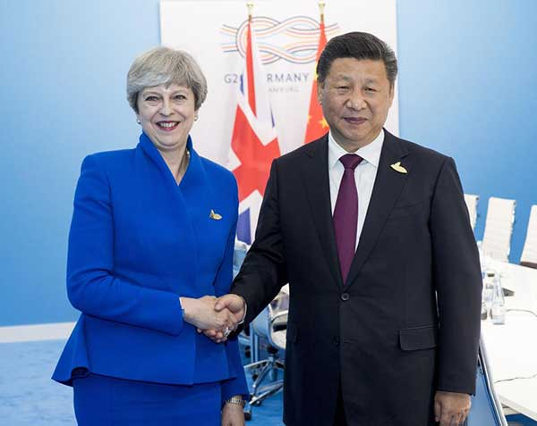 President Xi eyes more stable, rapid development of ties with Britain
