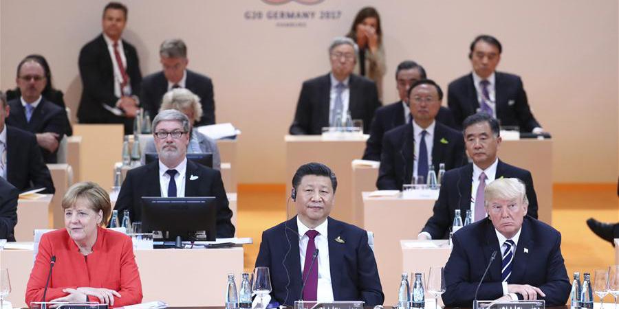 Full text of Chinese President Xi's speech at G20 Hamburg Summit