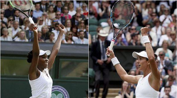 Wimbledon 2017: Women's results - Semifinals