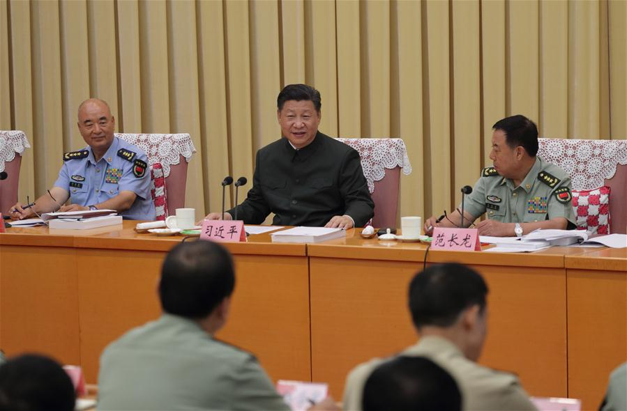 CHINA-BEIJING-XI JINPING-MILITARY RESEARCH-EDUCATIONAL INSTITUTIONS (CN)