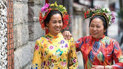 'Xunpu' women seen in Quanzhou City, China's Fujian