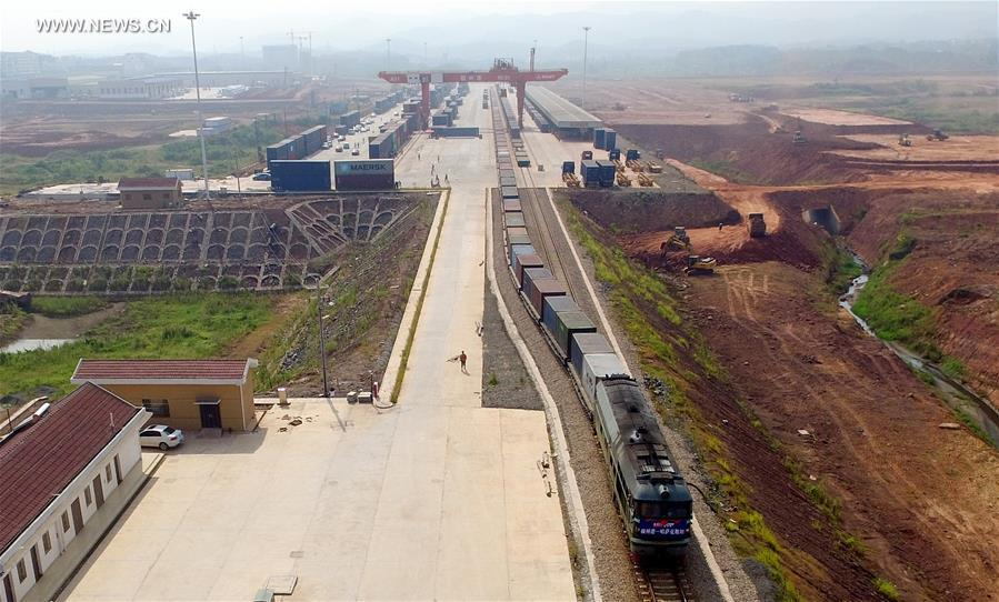 CCargo train services launched between China's Ganzhou, Kazakhstan