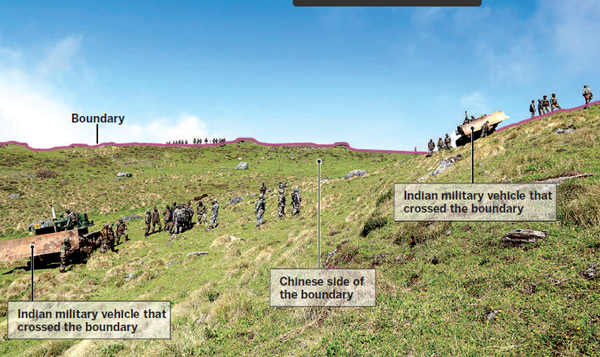 Sikkim standoff: engaging with China diplomatically, says India