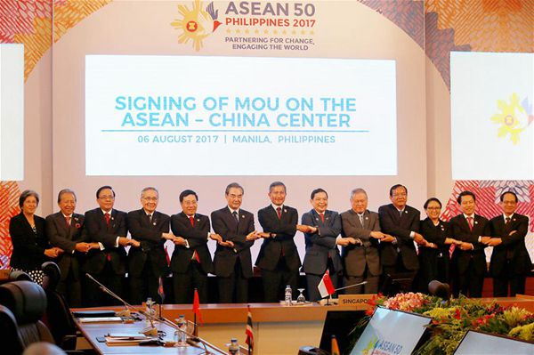 ASEAN foreign ministers endorse COC framework on South China Sea